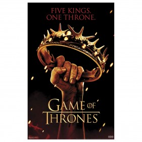 Game of Thrones Five Kings Poster [11×17]