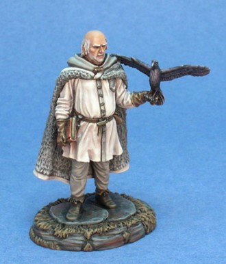 Night's Watch Raven Keeper of the Shadow Tower (Masterworks Miniatures)