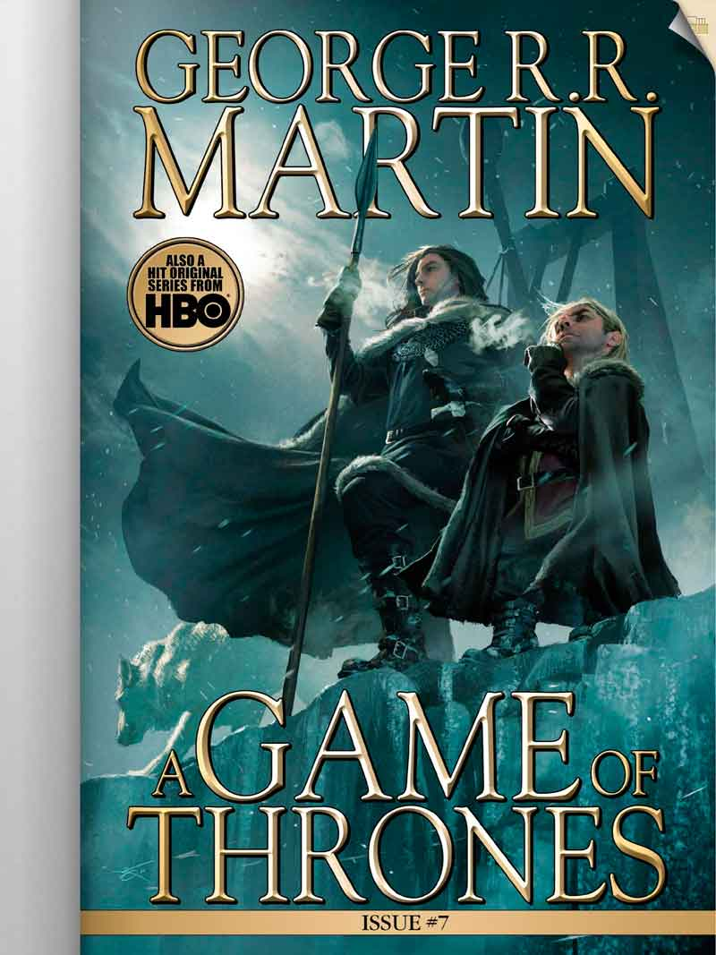 A Game of Thrones: The Comic Book (Mobile Application)