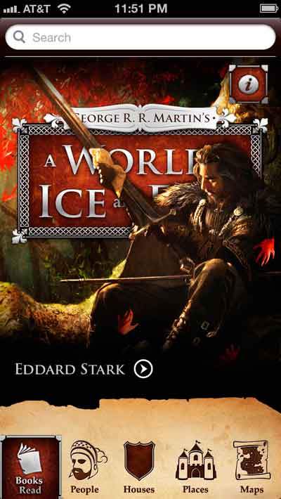 George R. R. Martin's A World of Ice and Fire (Mobile App)