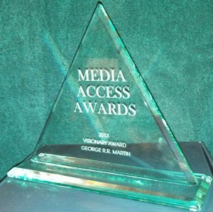 MEDIA ACCESS AWARD FOR GAME OF THRONES