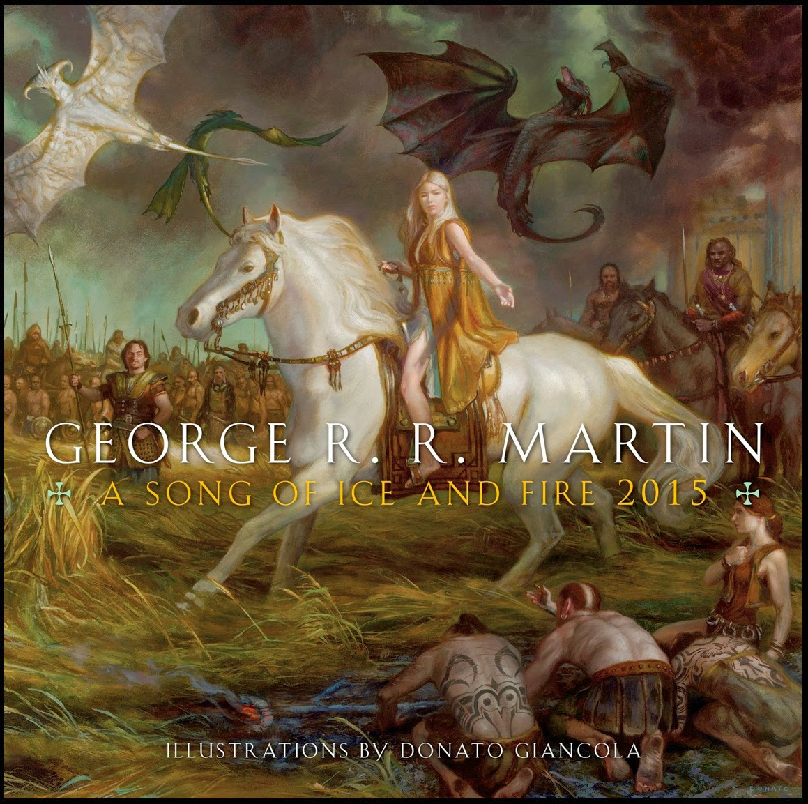 2015 Song Of Ice And Fire Calendars Available George R R