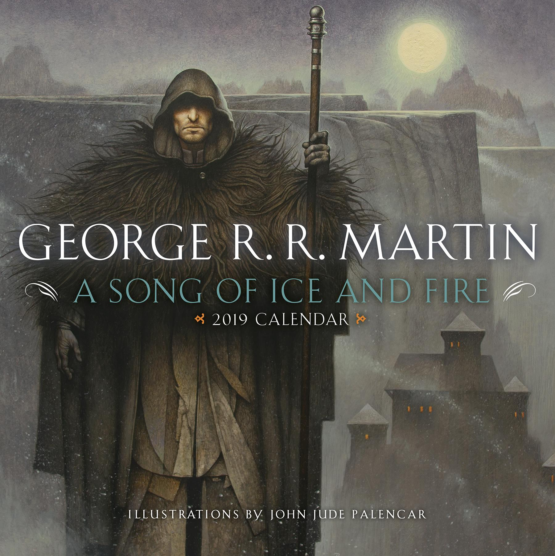 Song of Ice & Fire 2019 Calendar