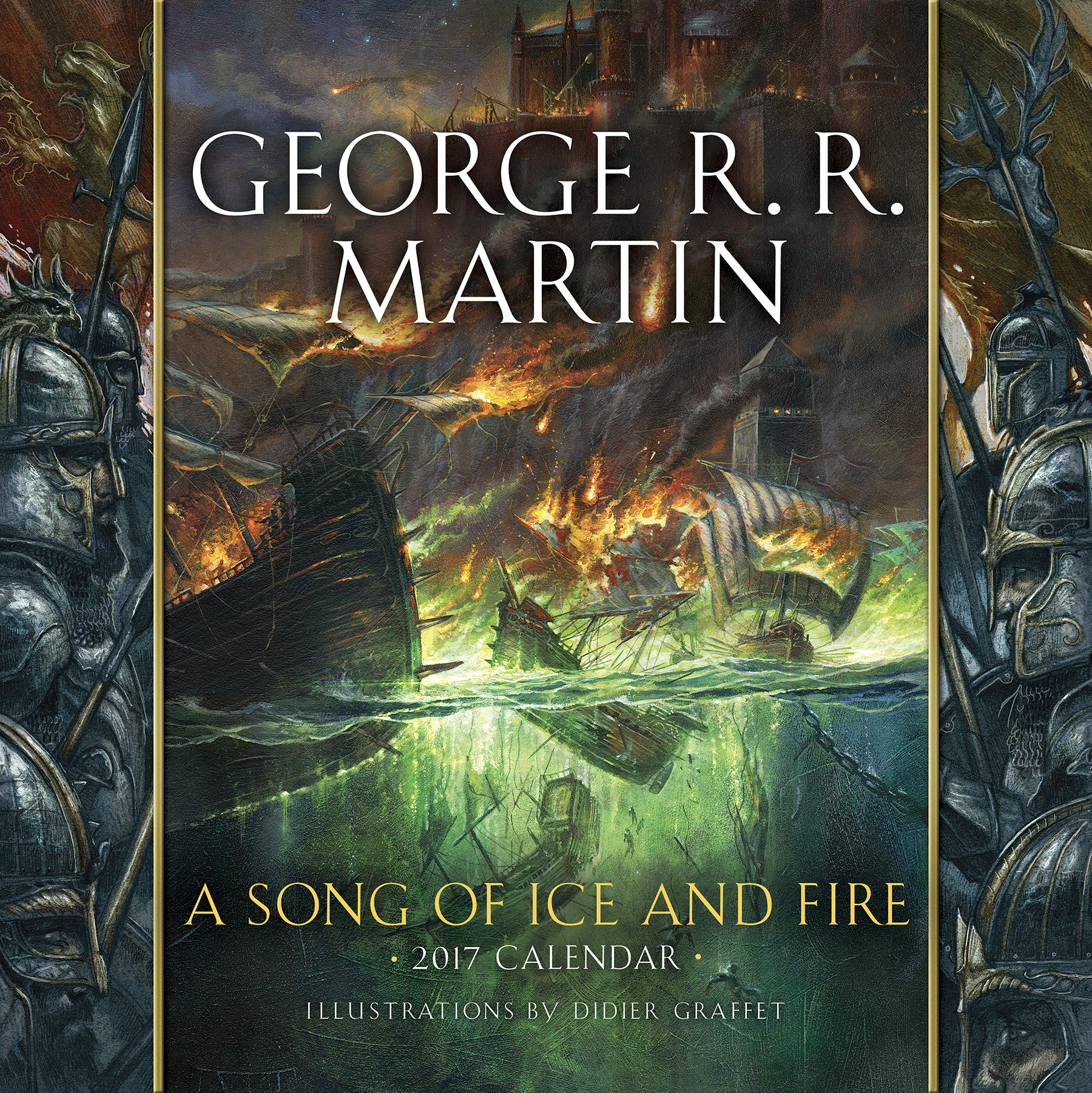 Song of Ice & Fire 2017 Calendar